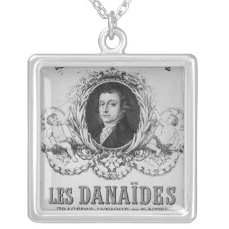 Advertisement for 'Les Danaides' Silver Plated Necklace