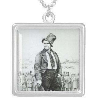 Advertisement for 'Limerick Races' Silver Plated Necklace