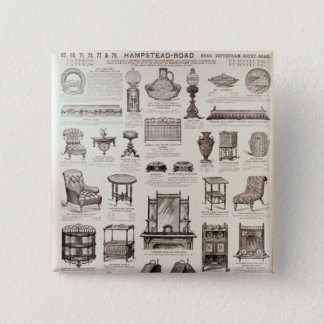 Advertisement for Oetzmann & Co. 15 Cm Square Badge