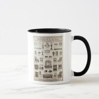 Advertisement for Oetzmann & Co. Mug