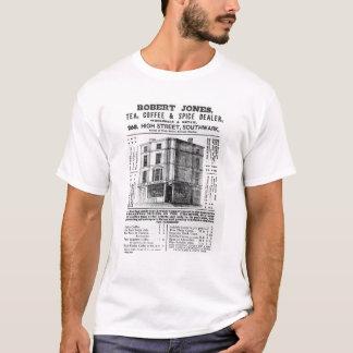 Advertisement for Robert Jones, Tea T-Shirt