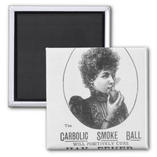 Advertisement for the Carbolic Smoke Ball Magnet