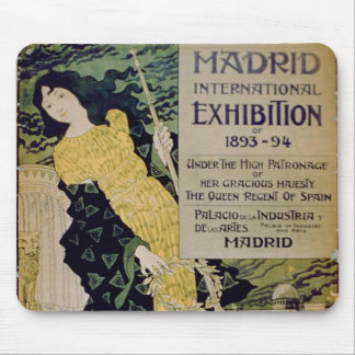Advertisement for the 'Madrid International Exhibi Mouse Mat