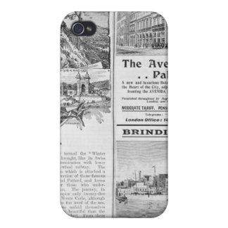 Advertisements for La Turbie Restaurant, iPhone 4/4S Case