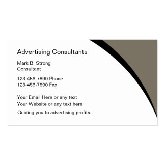Advertising Business Cards