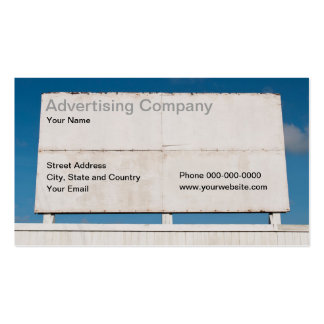 Advertising Company Business Card