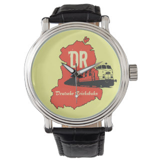 Advertising Design German National Railroad GDR Watch