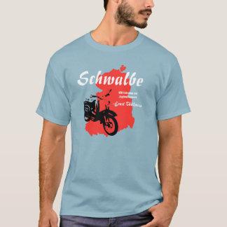 Advertising diagram GDR Simson swallow T-Shirt