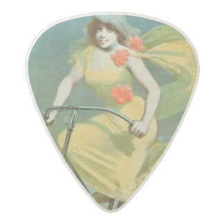 Advertising for 'Humber Cycles' (colour litho) Acetal Guitar Pick