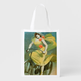 Advertising for 'Humber Cycles' (colour litho) Reusable Grocery Bag