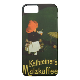advertising for 'Kathreiner's Malt Coffee' iPhone 8/7 Case