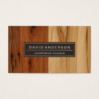 Advertising Manager - Wood Grain Look
