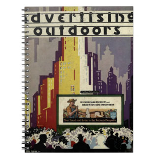 Advertising Outdoors Spiral Notebook