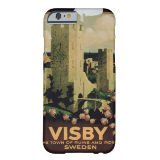 advertising the town of Visby, Sweden (colo Barely There iPhone 6 Case