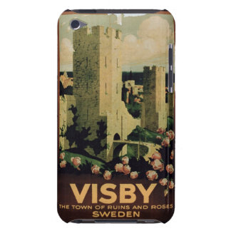 advertising the town of Visby, Sweden (colo Barely There iPod Cases