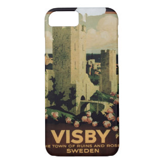 advertising the town of Visby, Sweden (colo iPhone 7 Case
