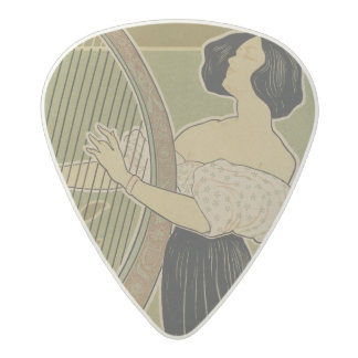 Advertisment for the 'Theatre Royal' Acetal Guitar Pick