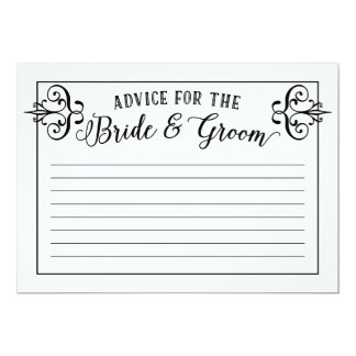 Marriage Advice Cards Photo Card Templates Invitations Amp More