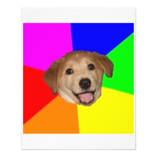Advice Dog Advice Animal Meme Flyer