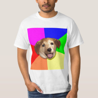 Advice Dog Internet Meme T-Shirt