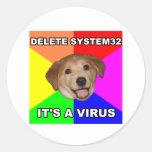 Advice Dog says: Delete the Virus