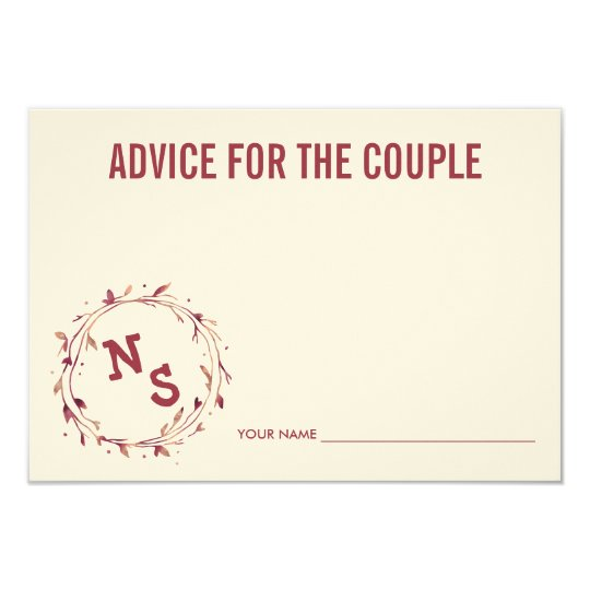 Advice for the Couple | Black Stripe &