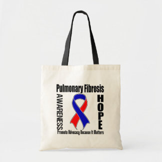 Advocacy Matters Pulmonary Fibrosis Tote Bags