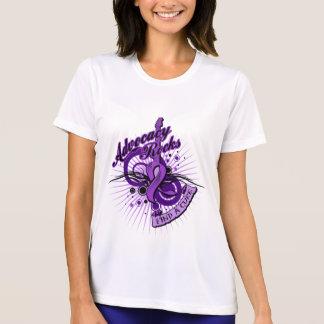 Advocacy Rocks Alzheimer's Disease Tshirts