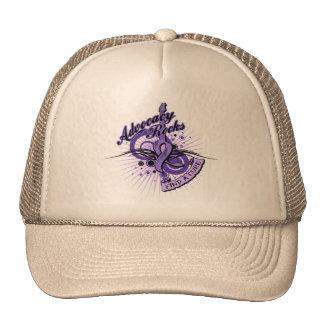Advocacy Rocks Leiomyosarcoma Trucker Hat