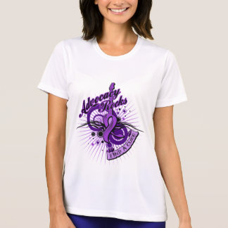 Advocacy Rocks Pancreatic Cancer T-Shirt