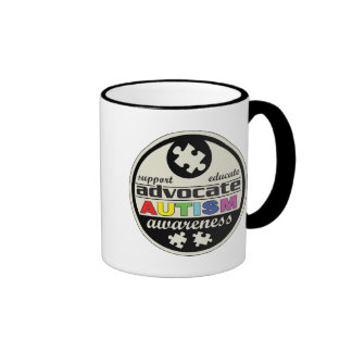 Advocate Autism Awareness Coffee Mug