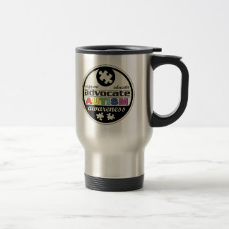 Advocate Autism Awareness Coffee Mugs