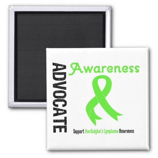 Advocate Non-Hodgkin's Lymphoma Awareness Refrigerator Magnet