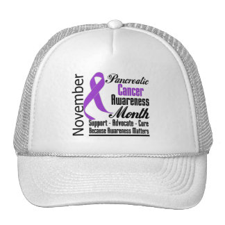 Advocate - Pancreatic Cancer Awareness Month Trucker Hat