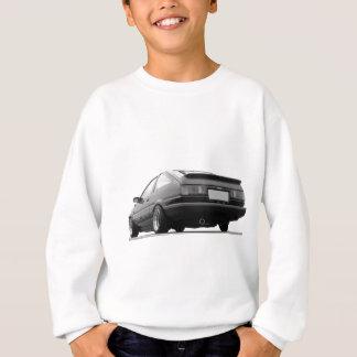 AE86 Black & White Sweatshirt