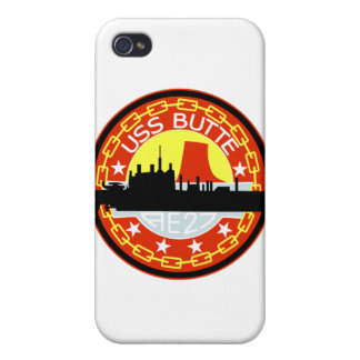 AE-27 USS Butte Ammunition Ship Military Patch iPhone 4/4S Covers