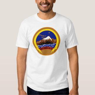 AE-35 USS Kiska Ammunition Ship Military Patch Tee Shirt