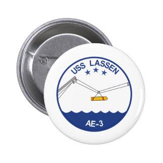 AE-3 USS Lassen Ammunition Ship Military Patch.psd 6 Cm Round Badge