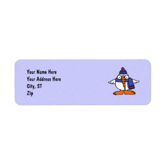 AE- Funny Snowbird Address Labels