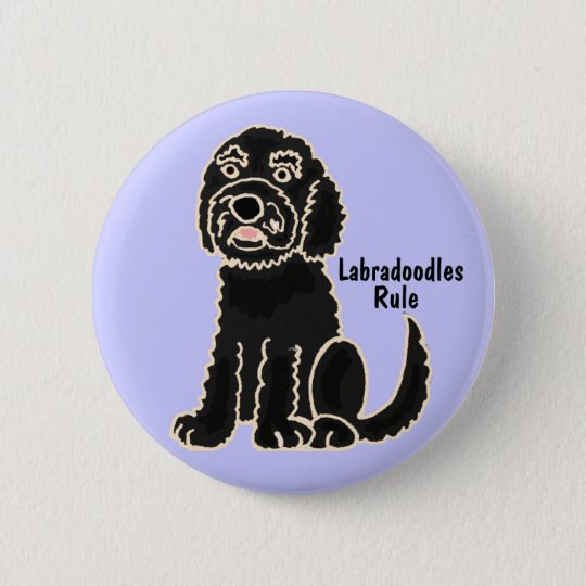 AE- Labradoodles Rule Button