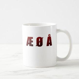 Æ Ø Å COFFEE MUG