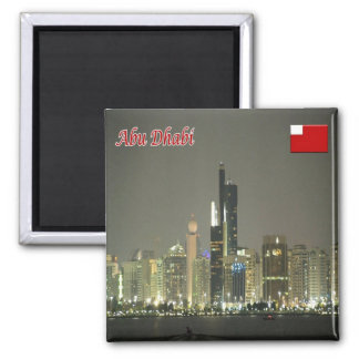 AE - United Arab Emirates - Abu Dhabi - Panorama Magnet