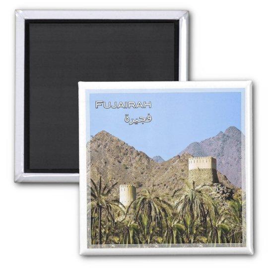 AE # United Arab Emirates - Fujairah - Looktower Magnet