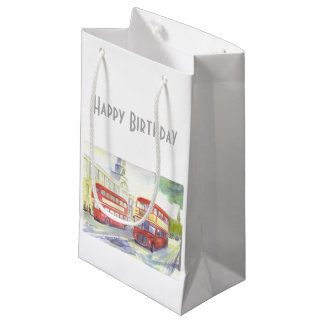AEC Routemaster Bus Gift Bag