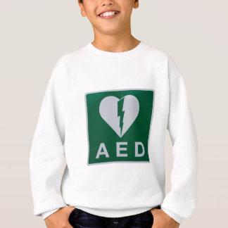 AED Defibrillator symbol Sweatshirt