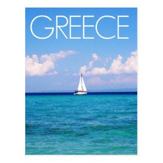 Aegean sea postcard
