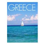 Aegean sea postcards