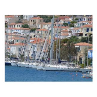 Aegina Port Postcard