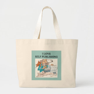 aelf publishing writers / authors jumbo tote bag