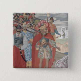 Aeneas and his Soldiers, 1919 15 Cm Square Badge